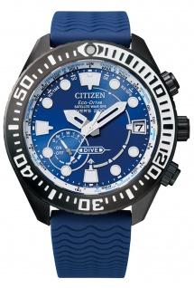 Citizen CC5006-06L Promaster Divers Uhr Herrenuhr Kautschuk Datum blau