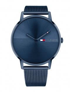 Tommy Hilfiger 1781971 ALEX Uhr Damenuhr Edelstahl Blau