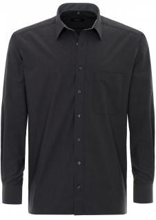 Eterna Herrenhemd Langarm Comfort Fit Grau XXXL/48 Hemd 8500/32/E148
