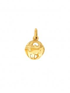 Gerry Eder 24.9020WI Anhänger Widder 14 Karat (585) Gelbgold Gold