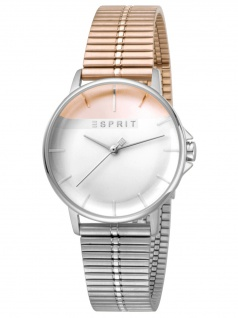 Esprit ES1L065M0105 Fifty-Fifty Uhr Damenuhr Edelstahl Bicolor