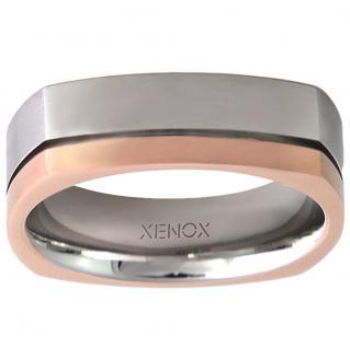 XENOX X2244-62 Herren Ring XENOX & friends Bicolor Rose 62 (19.7)