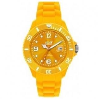 Ice-Watch SI.GL.B.S.10 Unisex Silikonband 50m Datum gelb Big