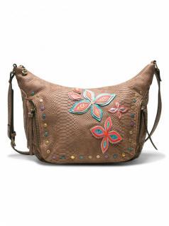 Desigual Damen Handtasche Tasche FLY PATCH SOMALIA Braun 18SAXPDS-6011
