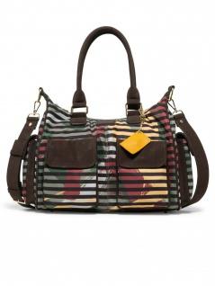 Desigual Damen Handtasche Tasche Henkeltasche SONIA LONDON Braun