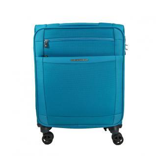 Samsonite Dynamo Spinner Blau 67cm Trolley Weichgepäck Koffer 56, 5L