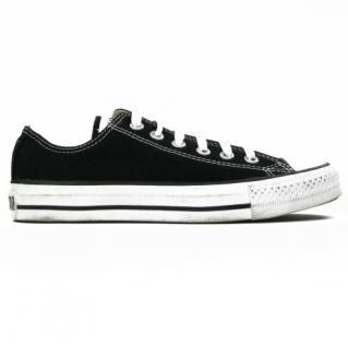 Converse Schwarz Damen Sneakers All Star Ox Schwarz Converse M9166C Größe 41, 5 7ba73b