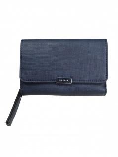 Esprit Damen Geldbörse Portemonnaies Davina med Blau 048EA1V003-400
