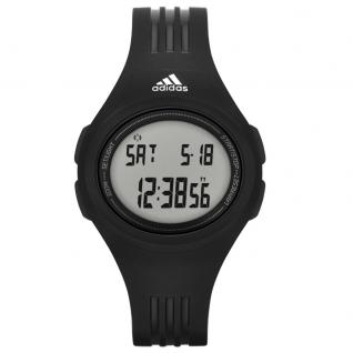 Adidas URAHA Uhr Herrenuhr Kunststoff Datum Alarm schwarz