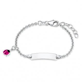 Prinzessin Lillifee 2018083 Mädchen Armband Silber Pink 14 cm