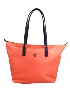 Tommy Hilfiger Damen Handtasche Tasche Shopper Poppy Tote Orange