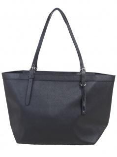 Esprit Damen Handtasche Tasche Shopper Irma Shopper Schwarz