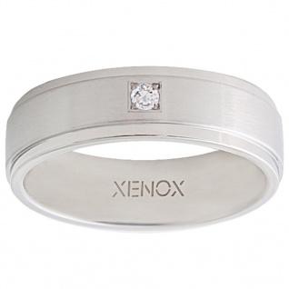 XENOX X2226-54 Damen Ring XENOX & friends Silber Weiß 54 (17.2)