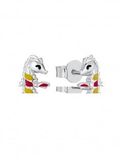 Prinzessin Lillifee 2031160 Mädchen Ohrstecker Seepferd 925 Silber