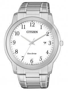Citizen AW1211-80A Eco Drive Uhr Herrenuhr Edelstahl Datum Silber