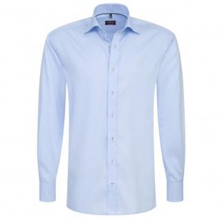 Eterna Herrenhemd Langarm Modern Fit Hellblau Gr. M/40 8100/10/X177