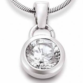 GOOIX 902-1743 Damen Anhänger Silber Zirkonia