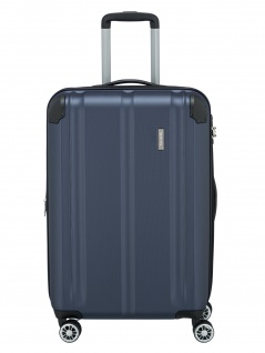 Travelite Trolley CITY M Hartschalenkoffer Koffer 86L Blau 73048-20