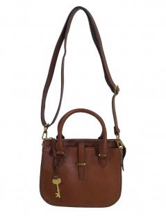 Fossil Handtasche Tasche Ryder Mini Satchel Leder Braun ZB7587-200