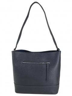 Esprit Damen Handtasche Tasche Henkeltasche Kerry Hobo Blau