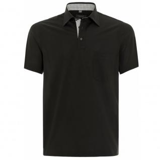 Eterna Herren Comfort Fit Poloshirt Piqué Schwarz L/42 2203/39/U577