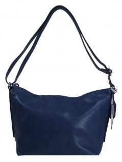 Esprit Damen Handtasche Tasche Schultertasche Ruby shoulderbag Blau
