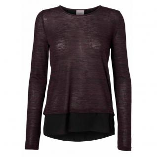 Vero Moda Damen Pullover Pulli Rundhals LAURA Top Violett Gr. XS