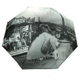 Y Not 55547 Super Mini City Paris Grau Taschenschirm - Vorschau 1