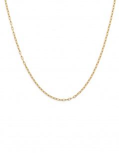 XENOX CHOICE XC1056G/45 Damen Kette Sterling-Silber 925 Gold 45 cm