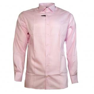 Eterna Herrenhemd Hemd Langarm Modern Fit Rosa Gr. XL/43 8100/50/X177