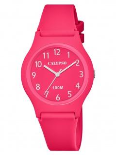 Calypso K5798/2 Uhr Mädchen Kinderuhr Kunststoff pink