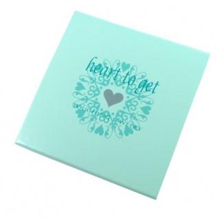 heart to get B278LOH16S Damen Armband Herz Silber 18 cm - Vorschau 4