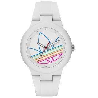 Adidas ADH3015 ABERDEEN Uhr Damenuhr Kautschuk weiß