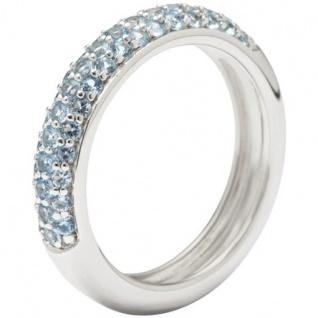 Fossil JFS00081 Damen Ring Sterling-Silber 925 Zirkonia 53 (16.9)