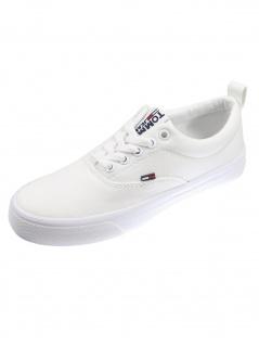 Tommy Hilfiger Damen Schuhe WMN Classic Tommy Jeans Sneaker Weiß
