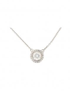 Gerry Eder 21.2051 Damen Collier Silber Weiß 45 cm