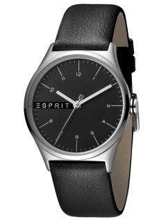 Esprit ES1L034L0035 Essential Black - L Uhr Damenuhr Edelstahl Schwarz