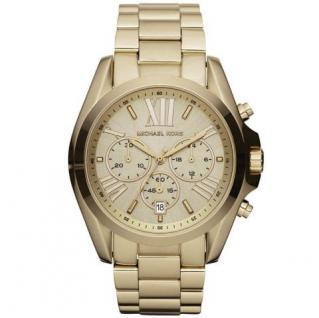 Michael Kors MK5605 BRADSHAW Chronograph Uhr Damenuhr Datum gold