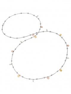 Engelsrufer ERN-LILJOY-PE-TR Damen Collier Herz Silber weiß 80 cm