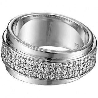 Esprit ESRG91437A Damen Ring Silber glamour curve 50 (16 mm )