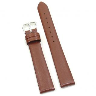 Condor Uhrenband 19241-14-30 Ersatzarmband 14 mm Rindnappa braun