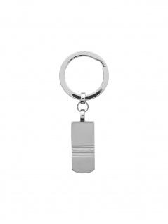 XENOX X4370 Herren Schlüsselanhänger Edelstahl Silber