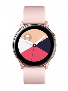 SAMSUNG Galaxy Watch Active Rose Gold Uhr Damenuhr Kautschuk rose