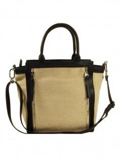 Esprit Damen Handtasche Tasche Henkeltasche Rory city bag Beige