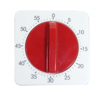 W&S 13600-01 Eieruhr rot Kurzzeitmesser