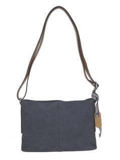Esprit Damen Handtasche Tasche Schultertasche Maxine shoulderbag Blau