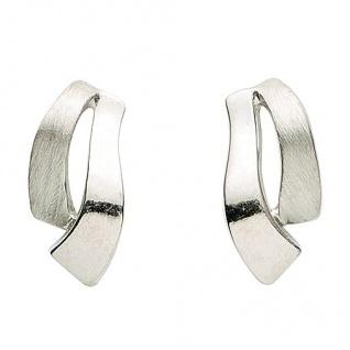 Basic Silber 01.1142 Damen Ohrstecker Silber
