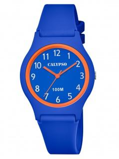 Calypso K5798/3 Uhr Junge Kinderuhr Kunststoff blau