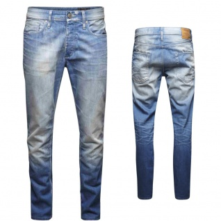Jack & Jones Herren Jeans 12086430 MIKE Original AT Blau Gr. 28W / 32L
