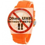 Ice-Watch Uhrenarmband LB-SI.OE.U.S.09 Silikon 20 mm Orange